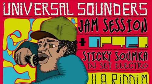 POSTER: Universal Sounders – Jam Session – 2010