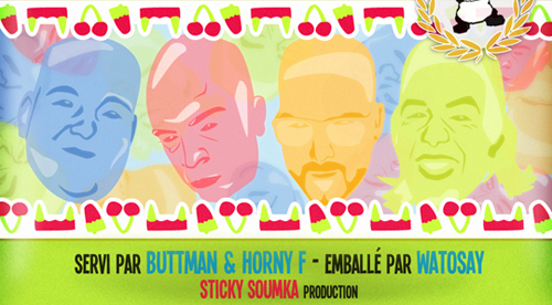 RECORD COVER: Foolzgeg – Friandises EP – Sticky Soumka Production