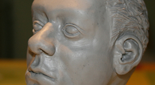 SCULPTURE: Real face – Anatomy – 2010