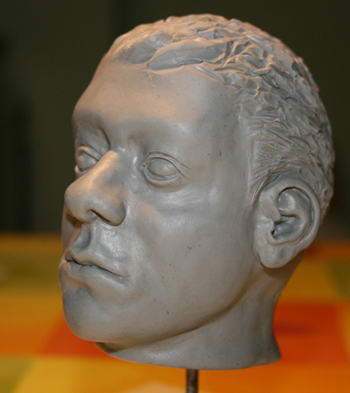 Sculpture personnage humain anatomique
