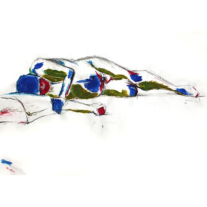 Anatomy painting tamines 2011-2012