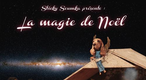 RECORD COVER: Sticky Soumka present: La Magie de Noël 2011