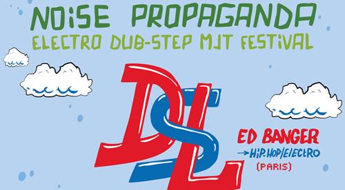 Noise Propaganda – Affiche de soirée