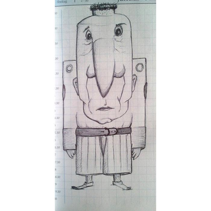sketch book doodle 2012