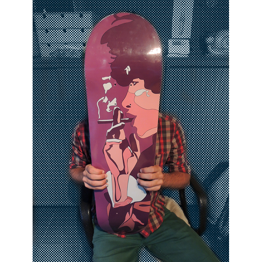 watosay skateboard deck collection 1