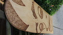 WatoSKATE #1 – Original Skateboard Deck – 2012